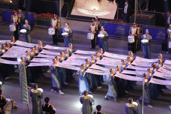 Organización de eventos y marca país el desfile de los faraones3