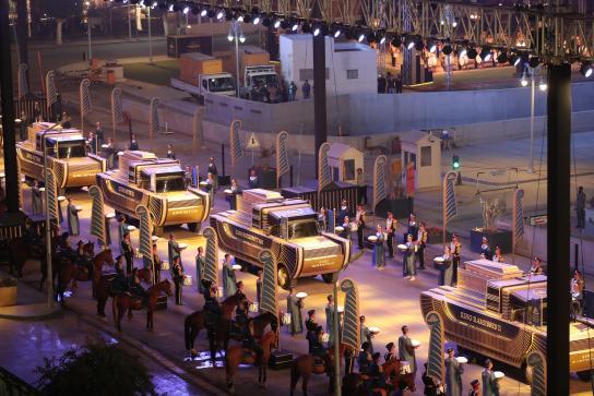 Organización de eventos y marca país el desfile de los faraones4