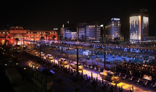 Organización de eventos y marca país el desfile de los faraones5