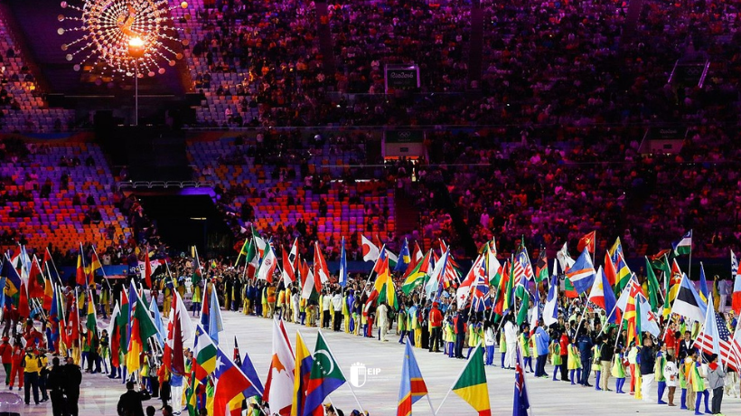 Ceremonia de inauguración de los juegos olímpicos